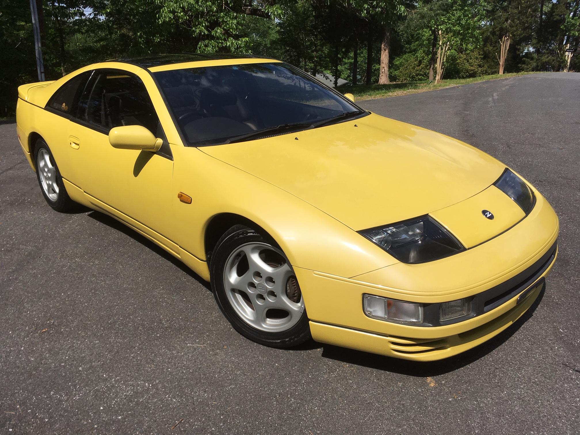 1990 JDM 300zx twin turbo 2+2 yellow pearlglow