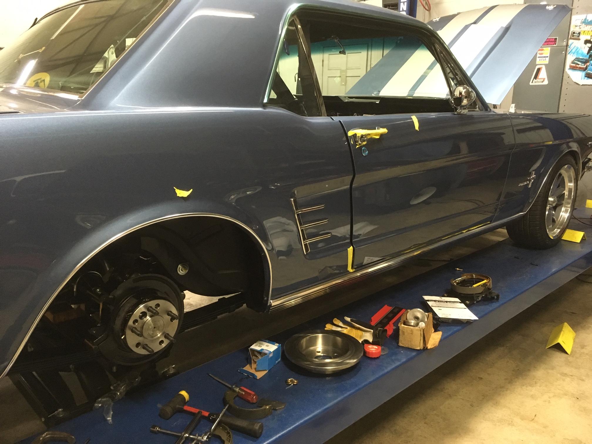 Mustang Disc Brake Conversion