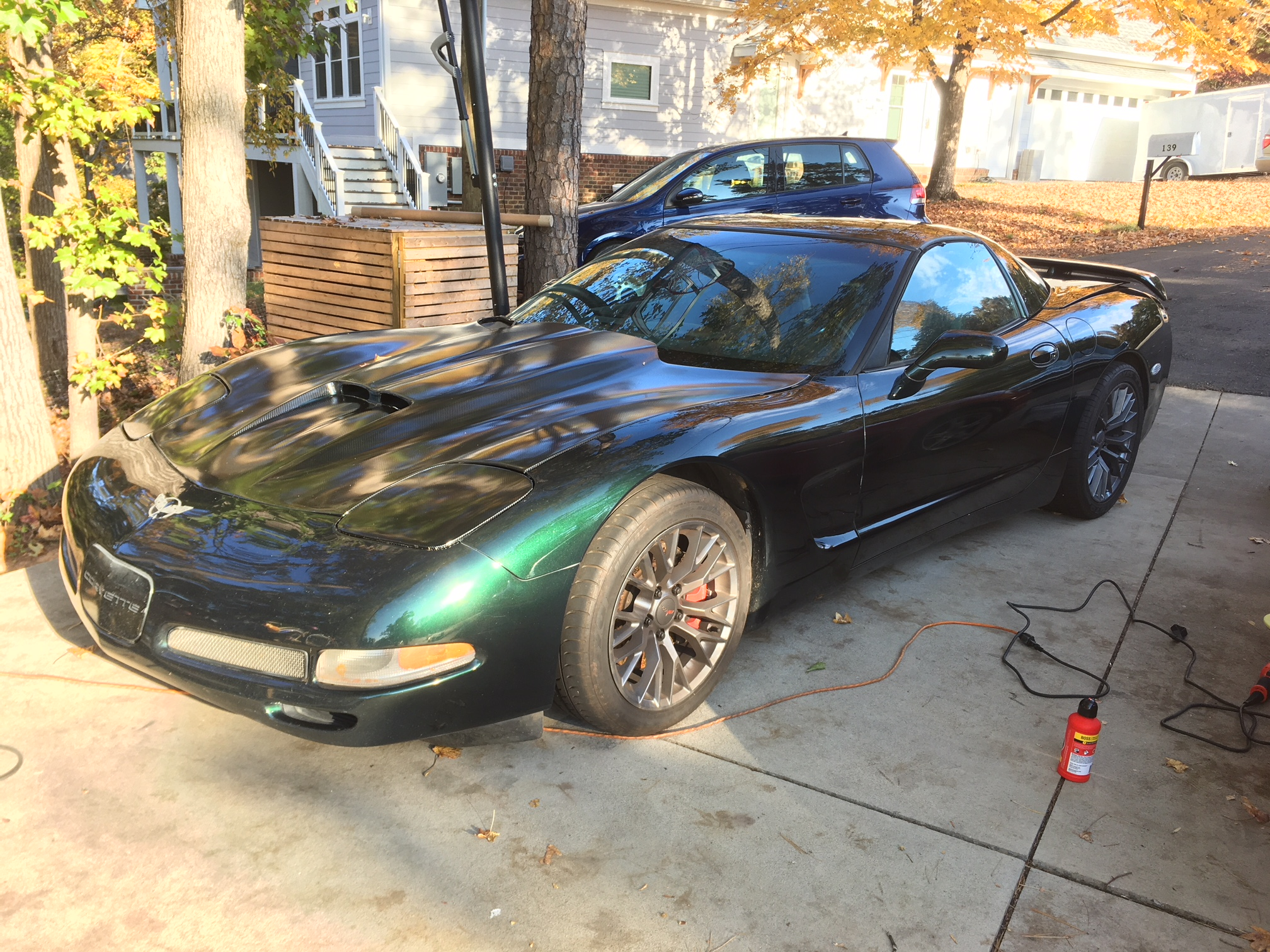 Chevy Corvette with C7 7 speed manual transaxle