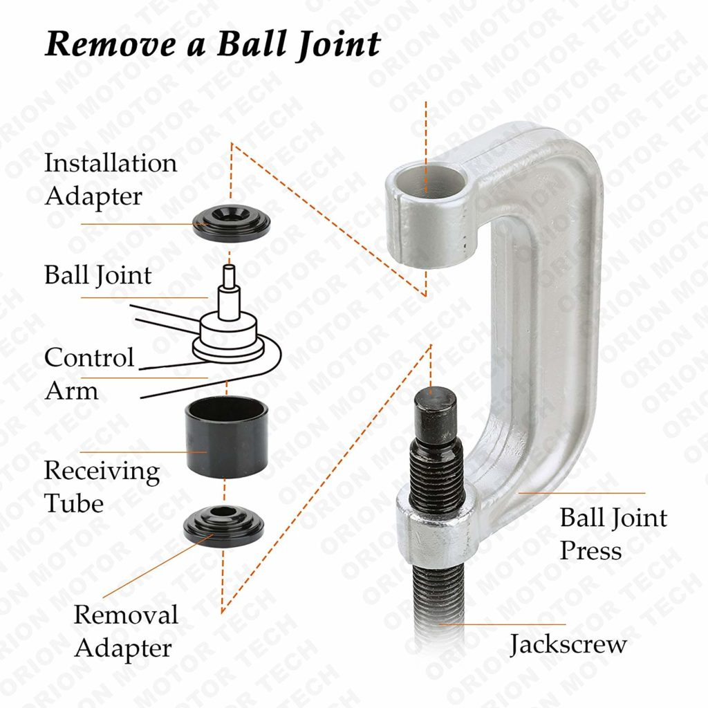 Ball Joint and bushing remover press